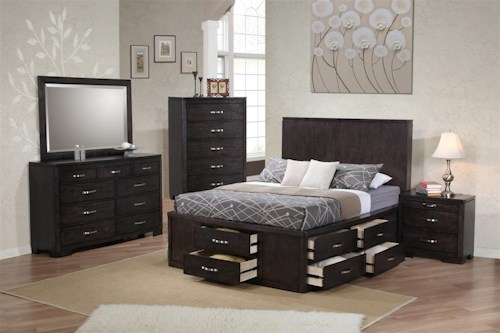 Private Reserve Dublin Queen Bedroom Group