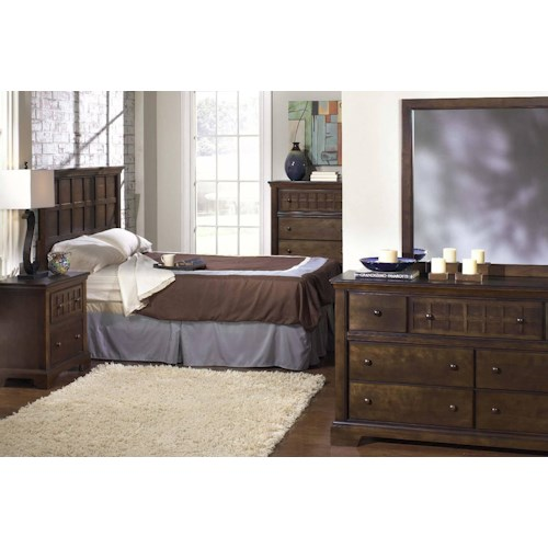 Progressive Furniture Casual Traditions Twin Bedroom Group