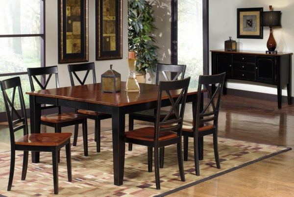 Progressive furniture cosmo casual dining room group