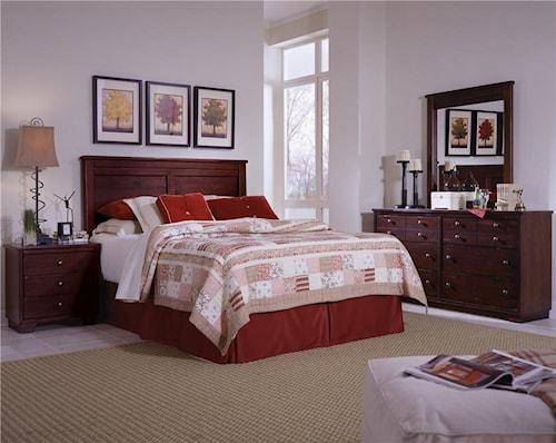 Bedroom Groups: Progressive Furniture Diego Full/Queen Bedroom Group