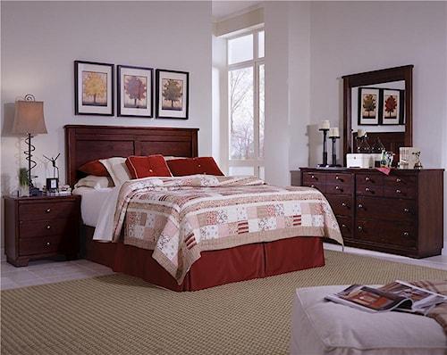 Progressive Furniture Diego Full/Queen Bedroom Group