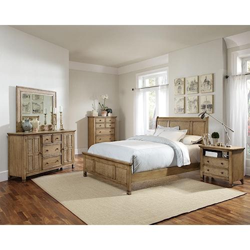 Progressive Furniture Kingston Isle Queen Bedroom Group