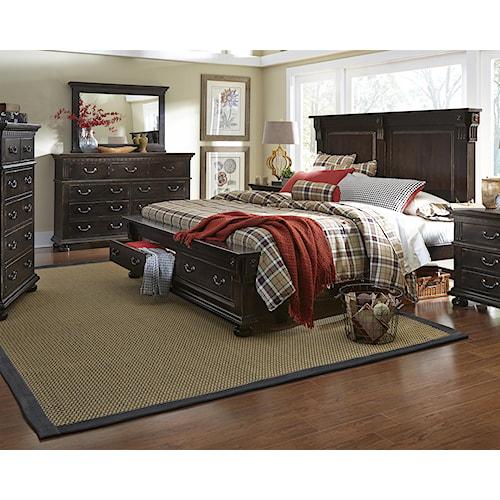 Progressive Furniture La Cantera Queen Bedroom Group