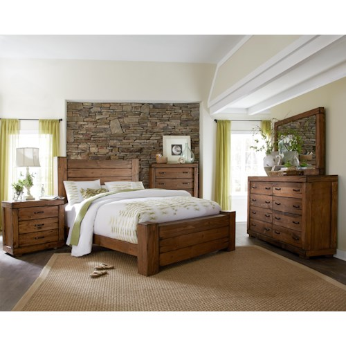 Progressive Furniture Maverick King Bedroom Group