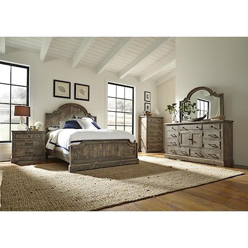 Progressive Furniture Meadow Queen Bedroom Group