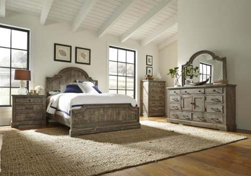 Model Of Progressive Furniture Meadow King Bedroom Group Idea - New King Bedroom Sets Clearance Picture
