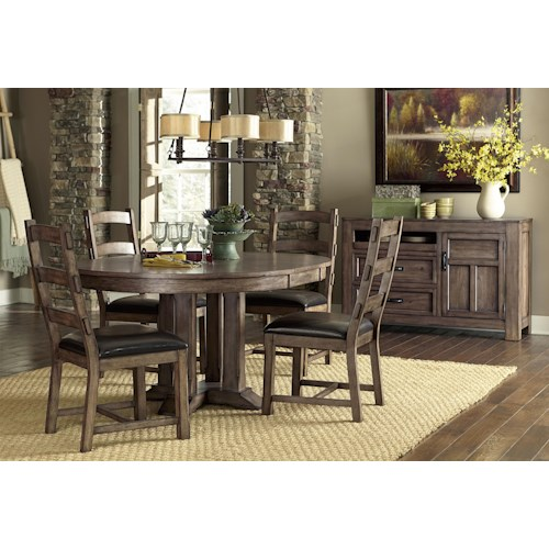 Progressive Furniture Boulder Creek Casual Dining Room Group