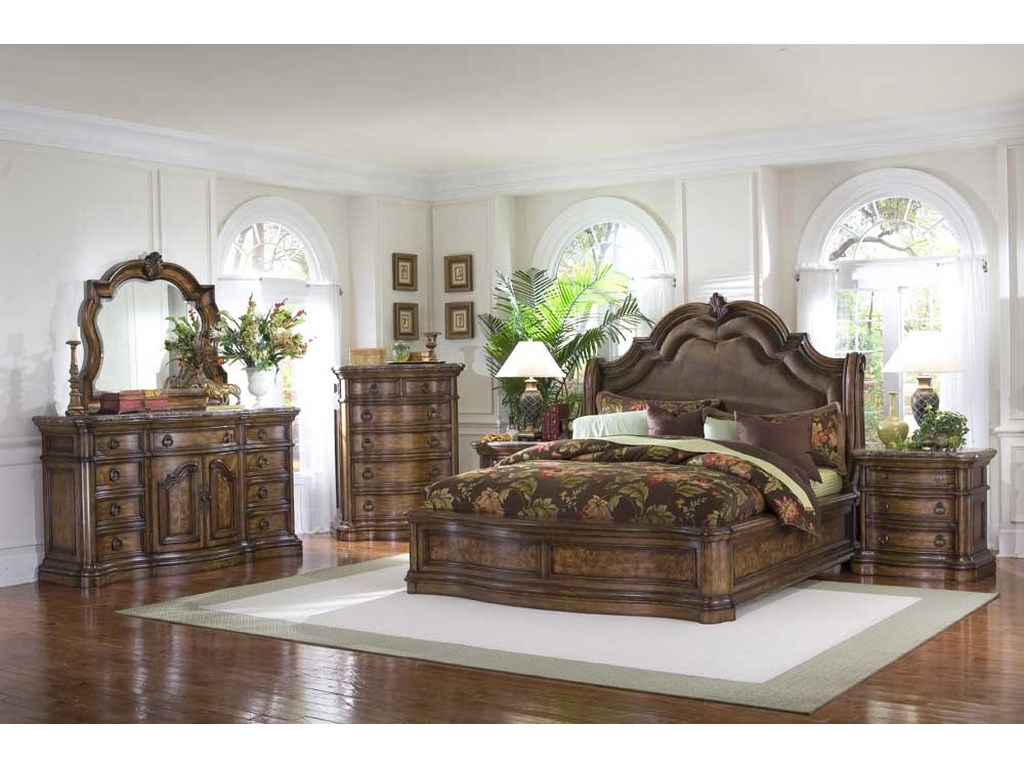 Pulaski Furniture San MateoKing Bedroom Group