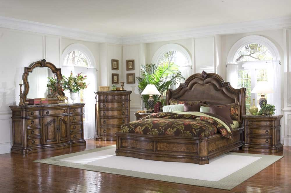 Pulaski Furniture San Mateo King Bedroom Group