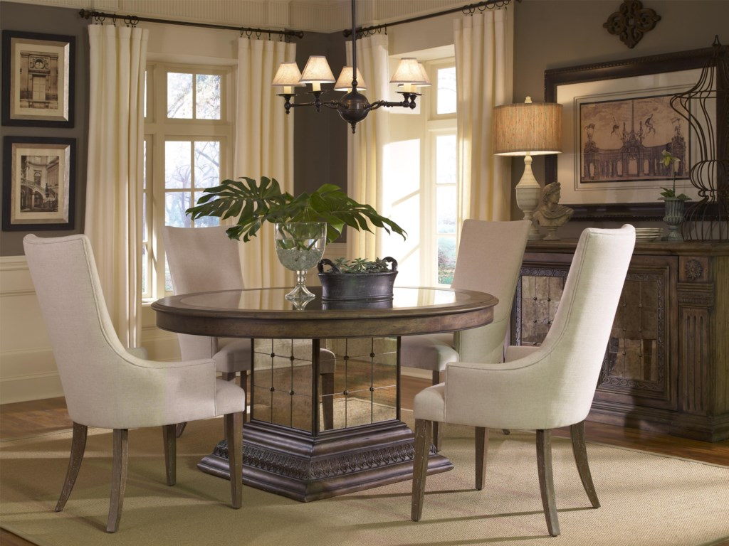 Pulaski Furniture Accentrics HomeCasual Dining Room Group