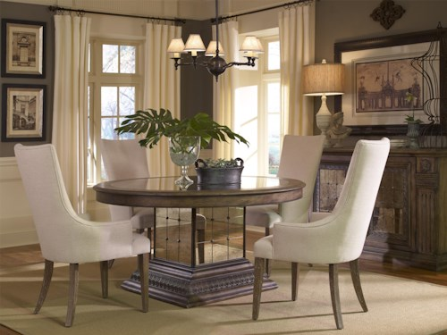Pulaski Furniture Accentrics Home Casual Dining Room Group