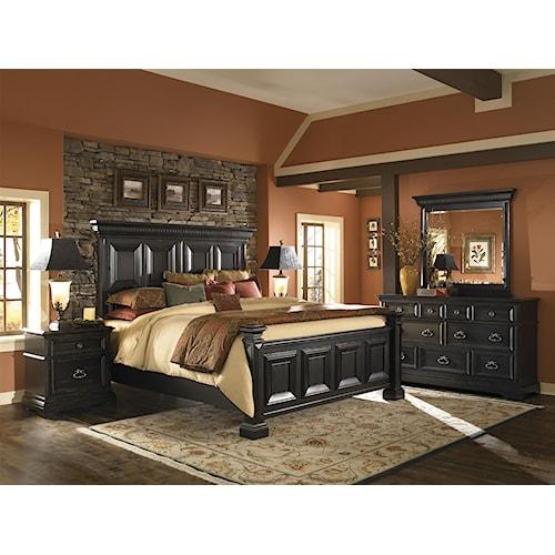 Pulaski Furniture Brookfield California King Bedroom Group