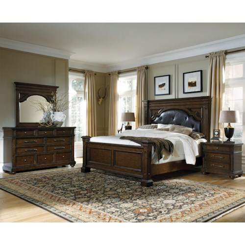 Pulaski Furniture Durango Ridge Cal King Bedroom Group