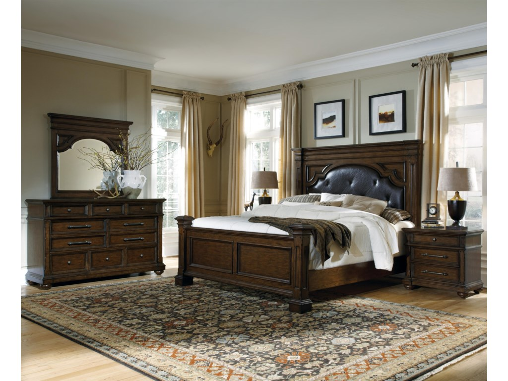 Pulaski Furniture Durango RidgeQueen Bedroom Group