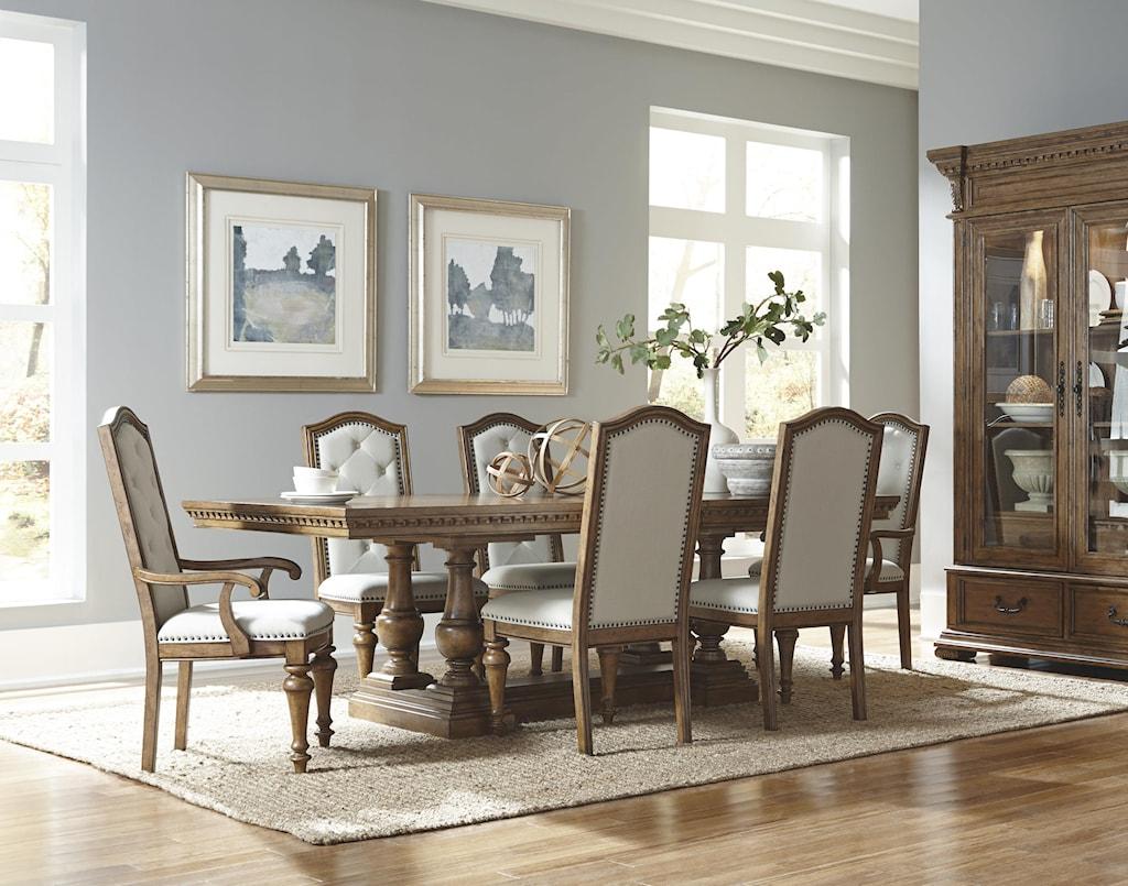 Formal Dining Room Furniture pulaski furniture stratton formal dining room group - royal