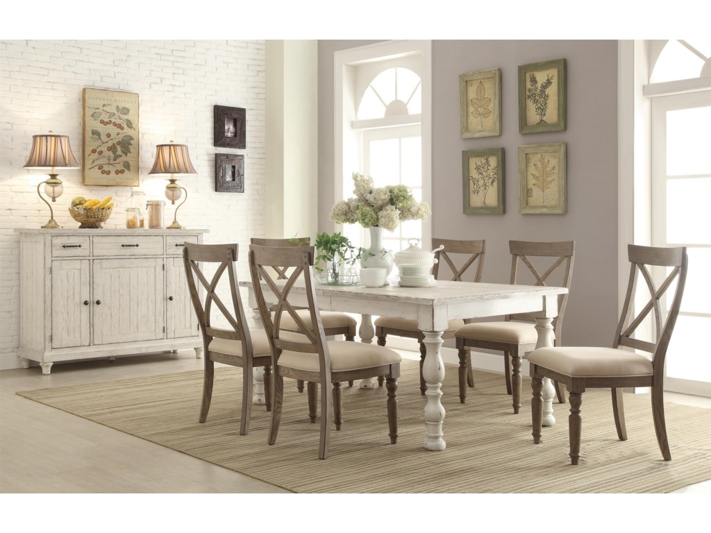 Riverside Furniture AberdeenDining Room Group