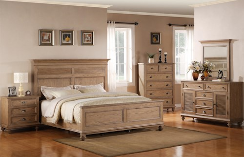 Riverside Furniture Coventry Full/Queen Bedroom Group