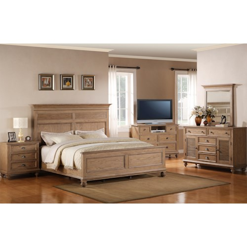 Riverside Furniture Coventry California King Bedroom Group