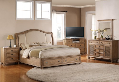 Riverside Furniture Coventry King Bedroom Group