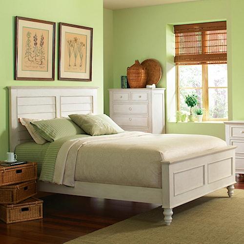 Riverside Furniture Placid Cove Cal King Bedroom Group