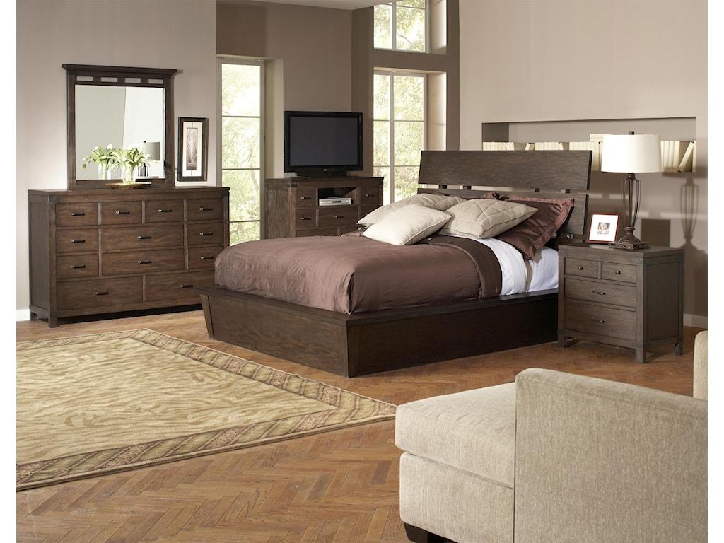 Riverside Furniture Promenade Queen Bedroom Group