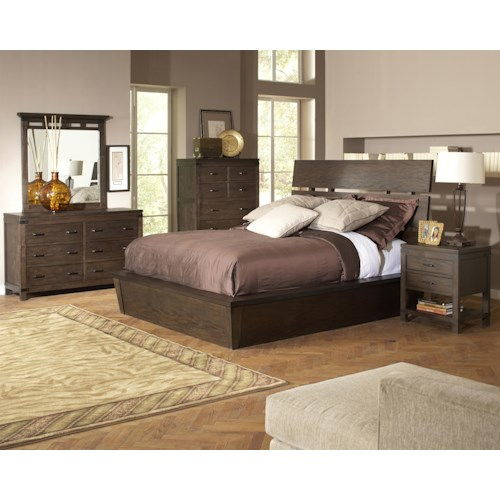 Riverside Furniture Promenade  Queen Bedroom Group