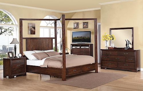Riverside Furniture Riata Cal King Bedroom Group
