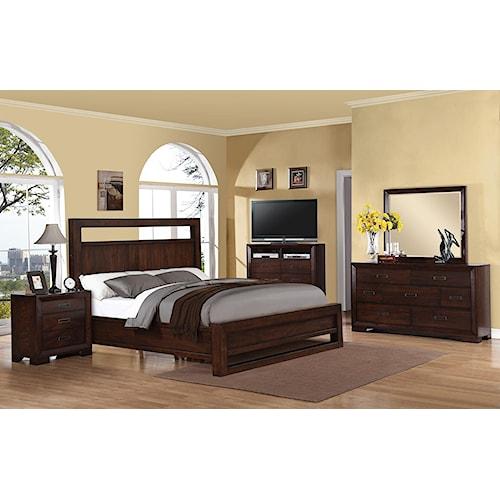 Riverside Furniture Riata King Bedroom Group