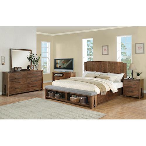 Riverside Furniture Terra Vista King Bedroom Group