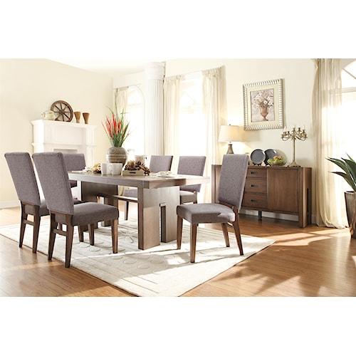Riverside Furniture Terra Vista Formal Dining Room Group