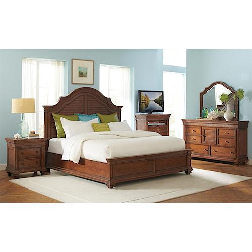 Riverside Furniture Windward Bay King Bedroom Group