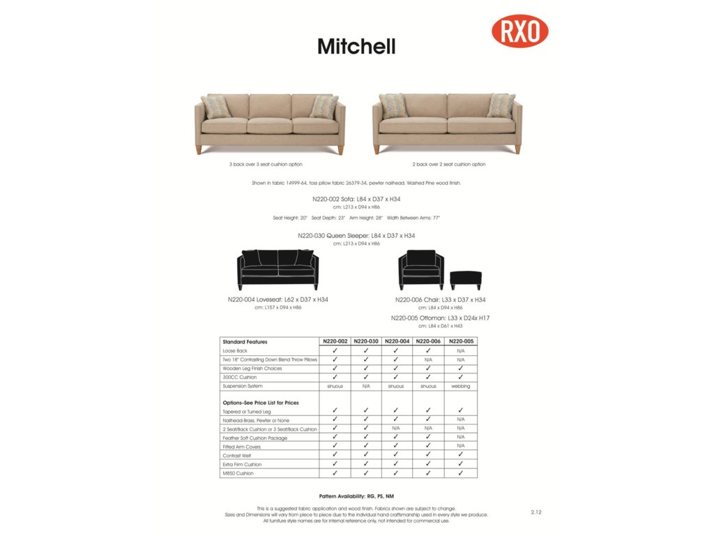Rowe Mitchell - RXO<b>Custom</b> Sectional Sofa