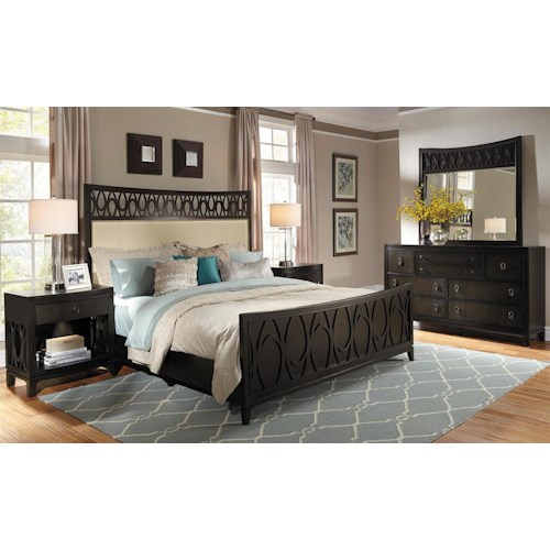 Samuel Lawrence Aura California King Bedroom Group