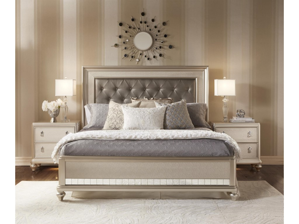 Samuel Lawrence DivaKing Bedroom Group