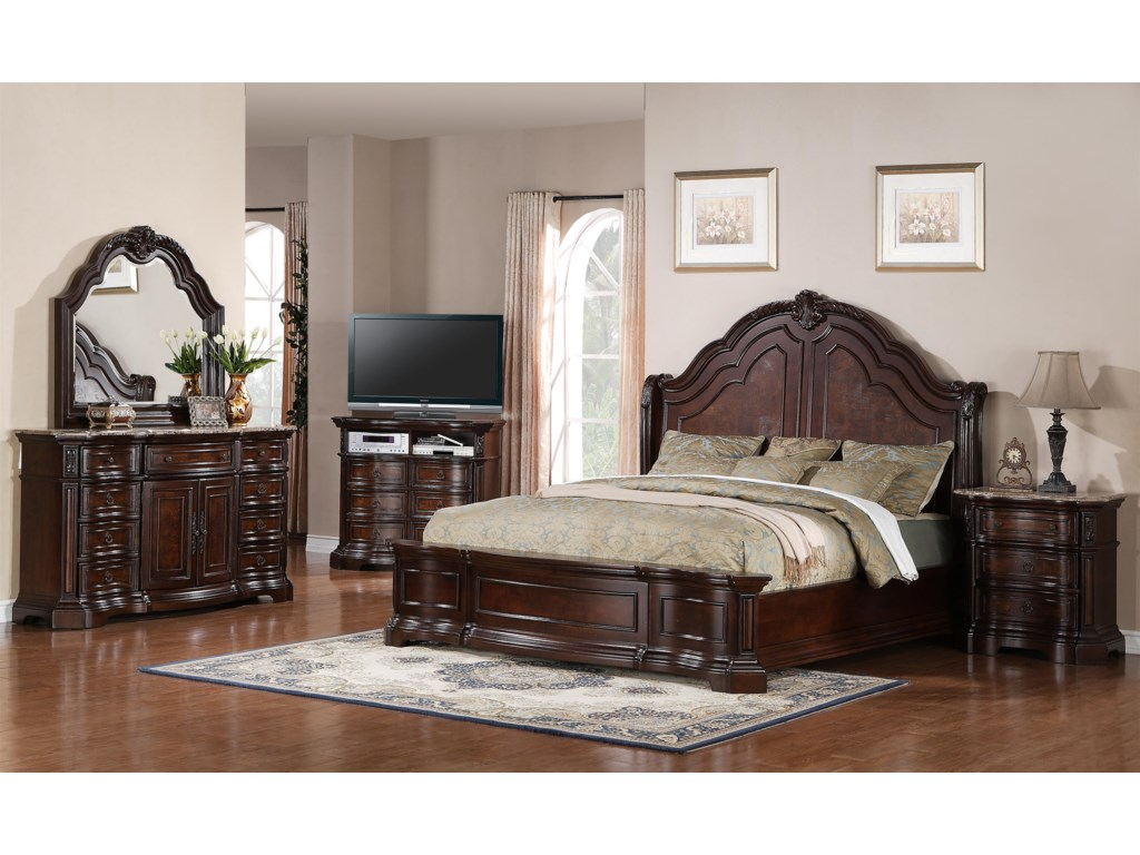 Samuel Lawrence EdingtonCalifornia King Bedroom Group