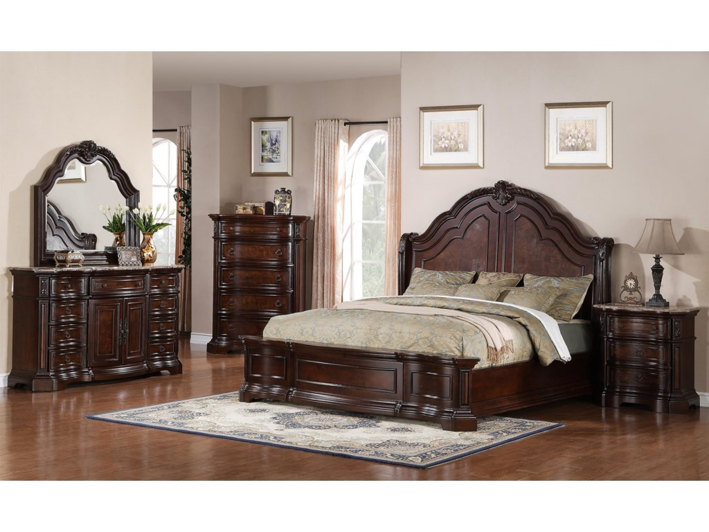 Samuel Lawrence EdingtonKing Bedroom Group