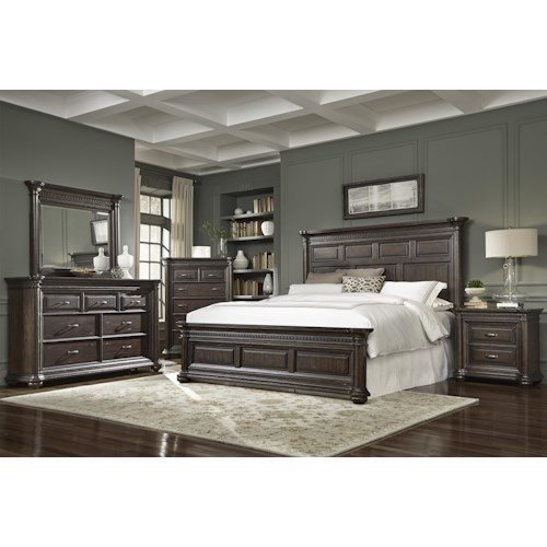 Samuel Lawrence Grand Manor Cal King Bedroom Group