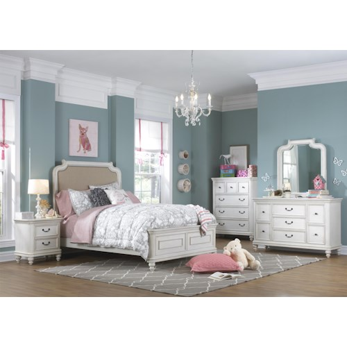 Kidz Gear Everly Twin Bedroom Group