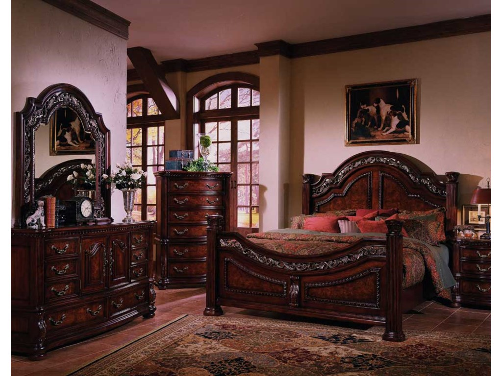 Samuel Lawrence San Marino California King Bedroom Group ...