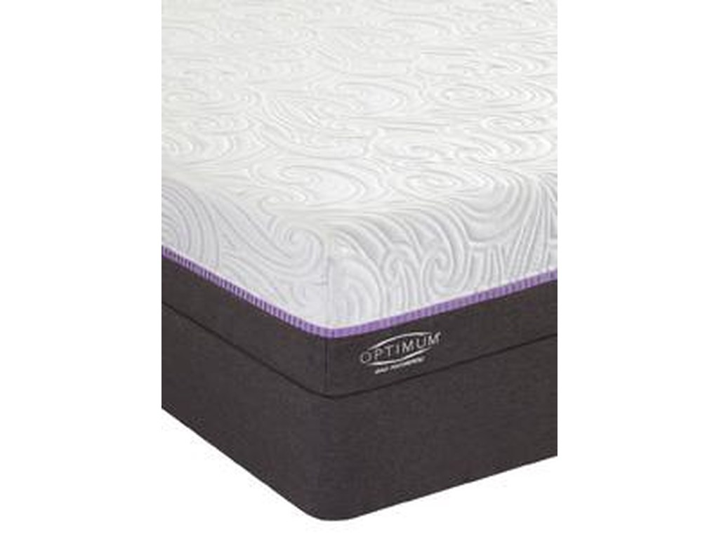 Sealy Queen Cushion Firm Mattress Set, HP
