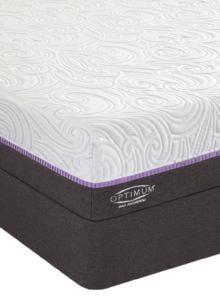 Sealy Optimum 2.0 RadianceQueen Cushion Firm Mattress Set, HP