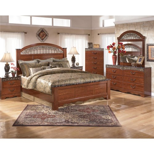 Signature Design by Ashley Fairbrooks Estate King Bedroom Group