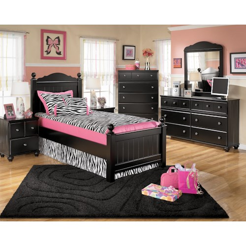 Signature Design by Ashley Jordan Twin Bedroom Group