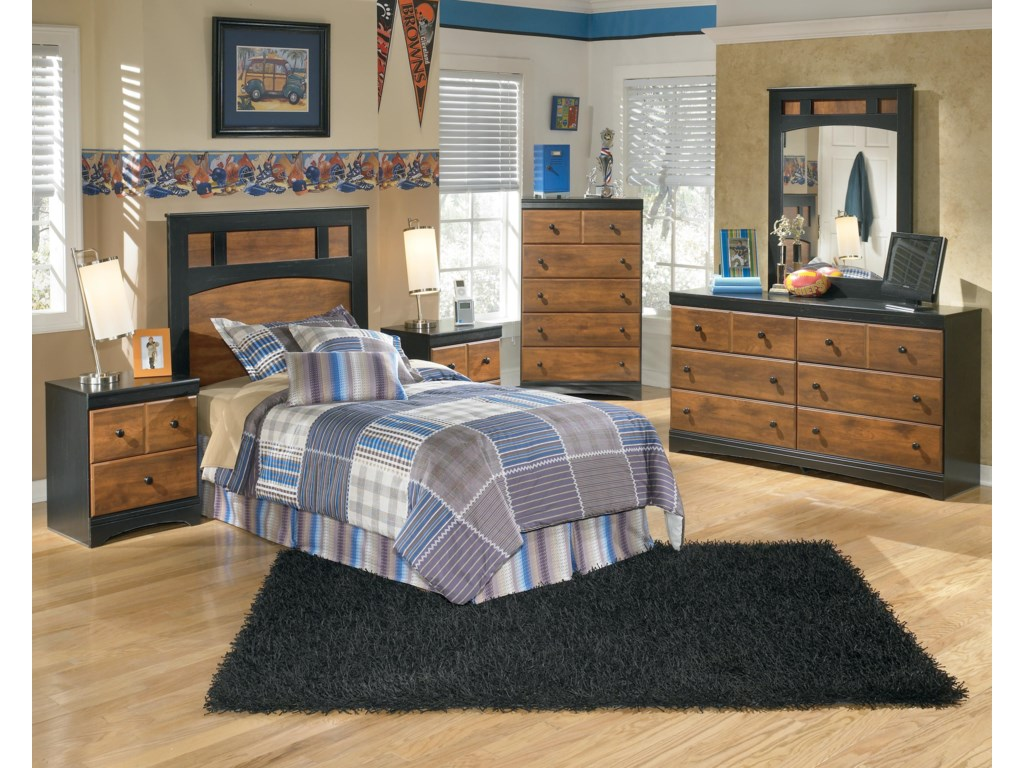 Ashley (Signature Design) AimwellTwin Bedroom Group