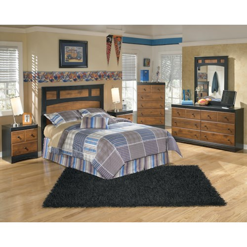 Signature Design by Ashley Furniture Aimwell Full Bedroom Group