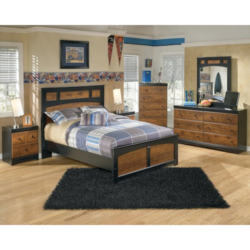 Signature Design by Ashley Aimwell Full Bedroom Group
