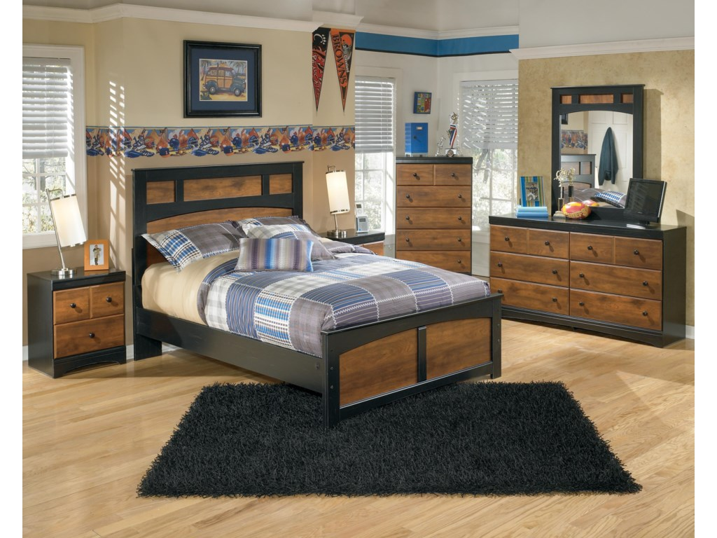 Ashley Signature Design AimwellFull Bedroom Group