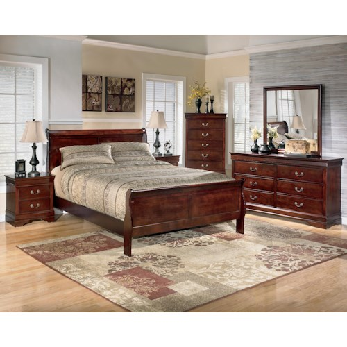 Signature Design by Ashley Alisdair 5 Piece California King Bedroom Group