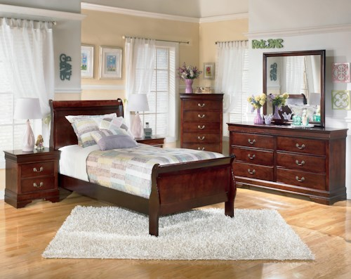 Signature Design by Ashley Alisdair 3 Piece Twin Bedroom Group