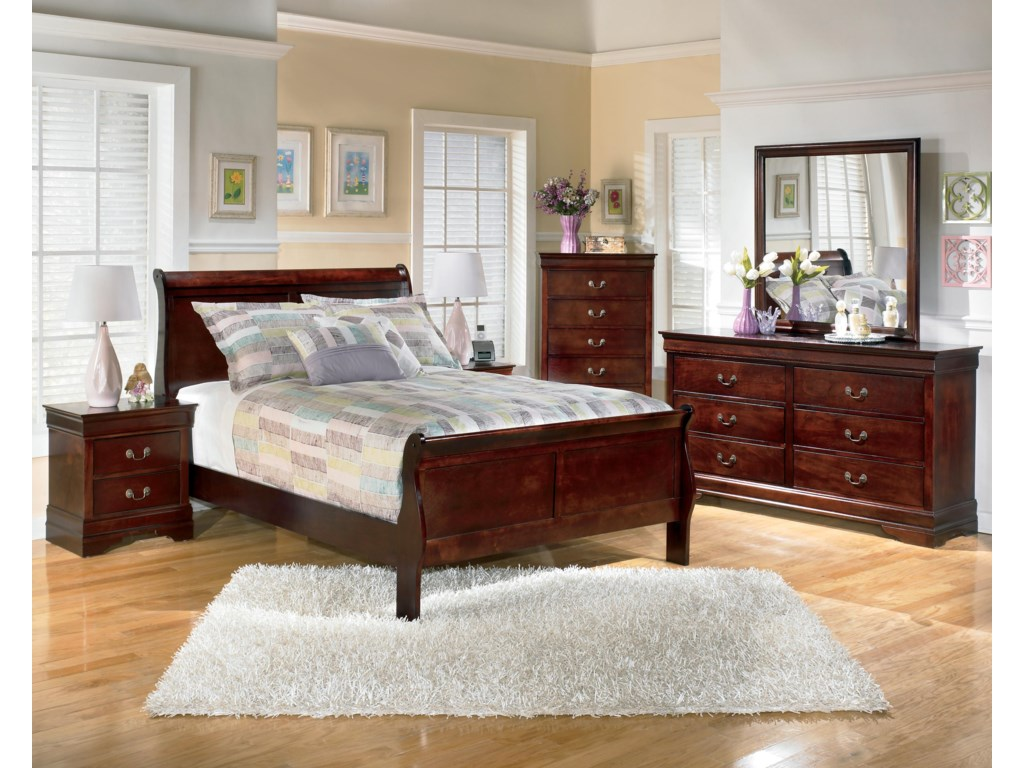 Nightstand and Chest of Drawers Not Included